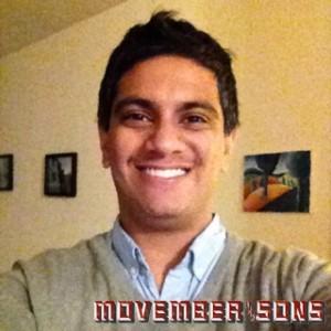 Nikhil's Movember 'Stache